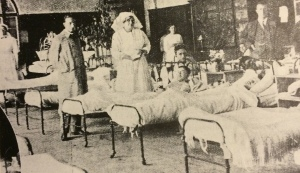 Hospital wards early 1900s