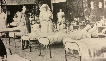 Hospital wards early 1900s