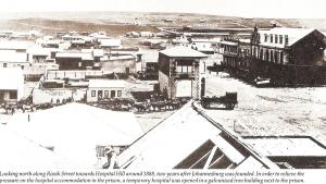 JHB view Hospital Hill & Hillbrow 1888