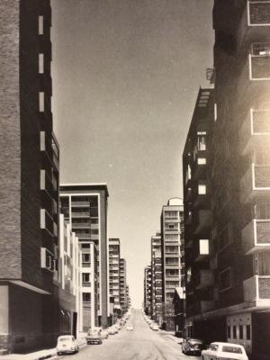 Basket Street looking south 1970s