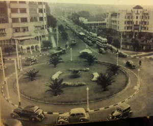 Clarendon Circle from 1938