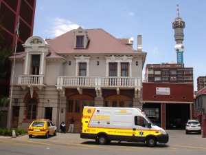 Hillbrow firestation 2011