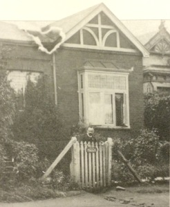 The house where Eric Rosenthal was born in Kotze Street early 1900s