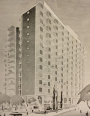 Von Brandis Heights showing the Brazilian influence
