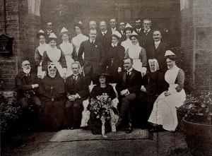Jihannesburg hopsital staff c1908