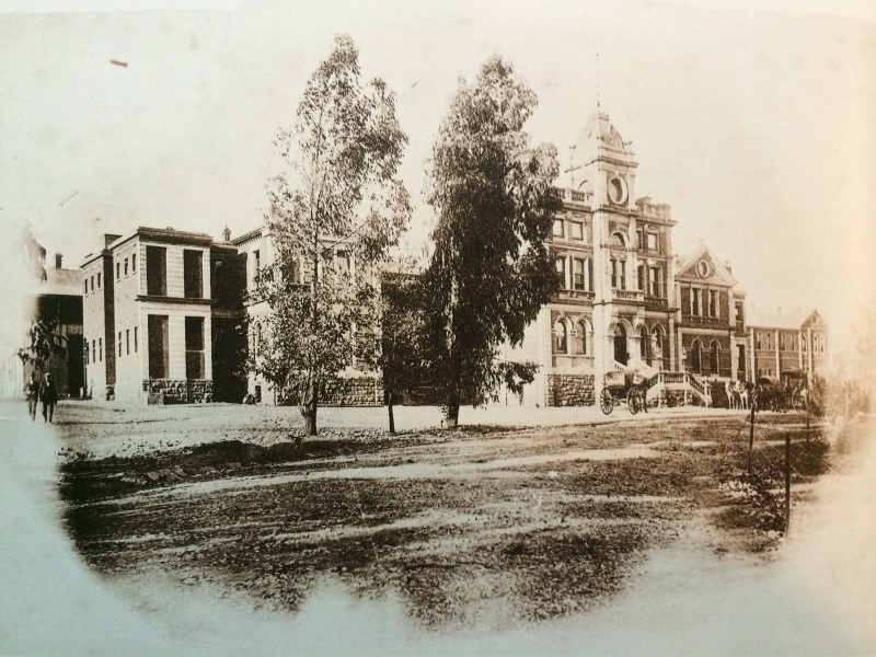 First general hospital 1890