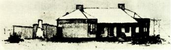 Temporary hospital from 1888