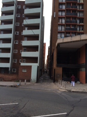 Typical Alley in Hillbrow