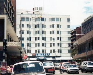 Chelsea Hotel in the 1980s