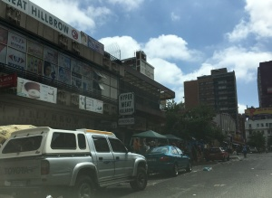 Site of the old Mini cine and underground flea market Pretoria Street 2015
