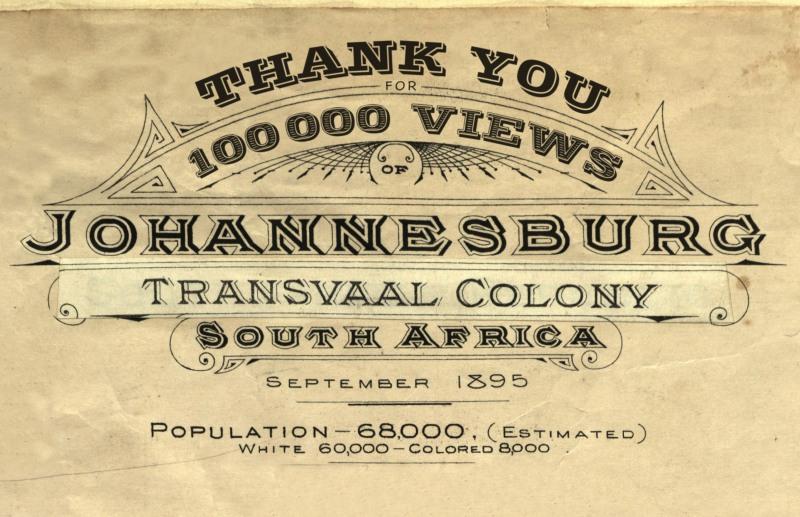 Insurance Plans of Johannesburg 1910