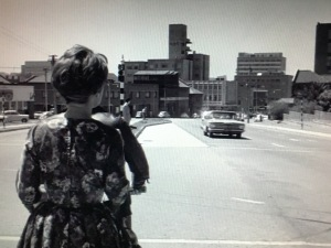 Top of Jan Smuts looking toward Braamfontein