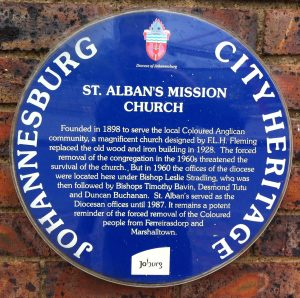 St. Alban's blue plaque