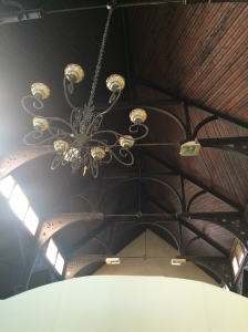 Ceiling and beams