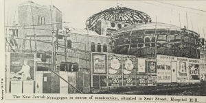Under construction February 1914