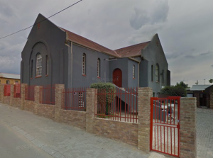 AME church from Hofmeyr street
