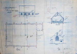 Plans for the church