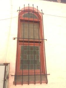 Central Zion Church window detail