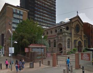 Holy Trinity Catholic Church Braamfontein