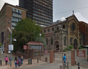 Holy Trinity Catholic Church Braamfontein