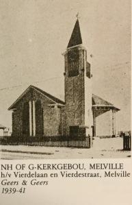 NHK Kerk around the time of construction