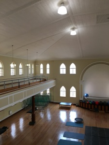 Interior which today functions as a rehabilitation centre