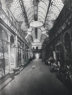 Old Arcade interior 1895