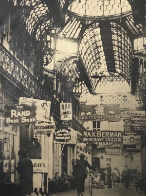 Old Arcade interior 1927