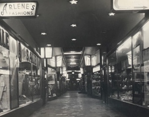 Royal arcade interior 1959
