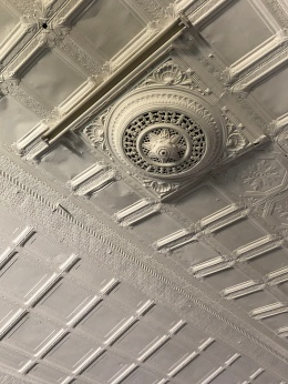 Jeppestown lodge roof detail 2019