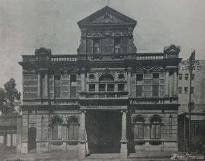 Plein Street Masonic temple c1905