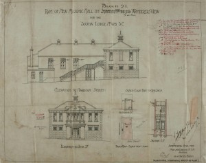 Scotia Masonic Hall plans