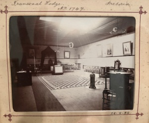 Transvaal Masonic Lodge interior