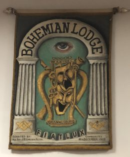 Bohemian Lodge banner