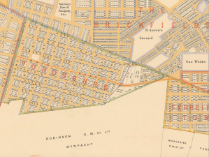 Fordsburg map 1896