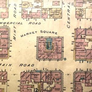 Fordsburg market square Goads map