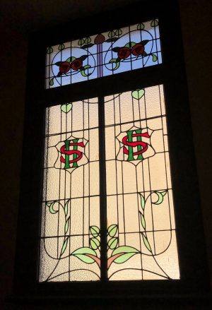 Fordsburg Sacks Hotel original stained glass