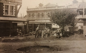 Fordsburg 1922 damage postcard