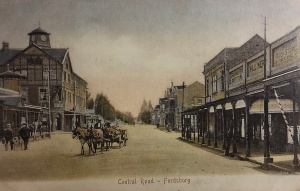 Fordsburg Central Road looking north postcard