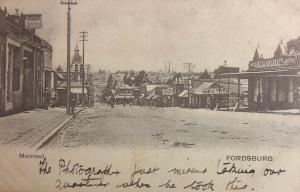 Fordsburg Main road & Lilian postcard