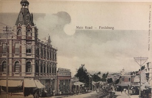 Crandon building Main road Fordsburg