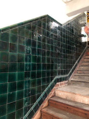 Fordsburg Hotel tiles and stairs