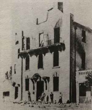 Forsdburg police station 1922