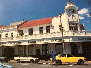 Fordsburg Sacks Hotel c1978