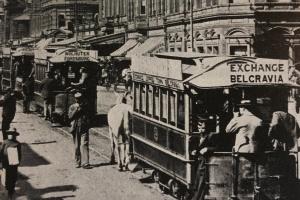 Horse trams Johannesburg