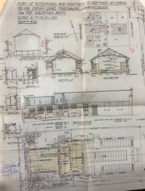 Salvation Army Hall plans 1929
