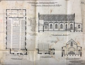 Presbyterian church Fordsburg main plan