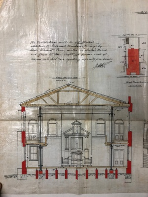 Fordsburg Synagogue plans