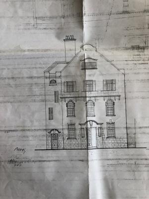 Forsdburg police station plans