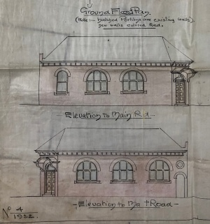 Fordsburg Standard Bank c1934 plans